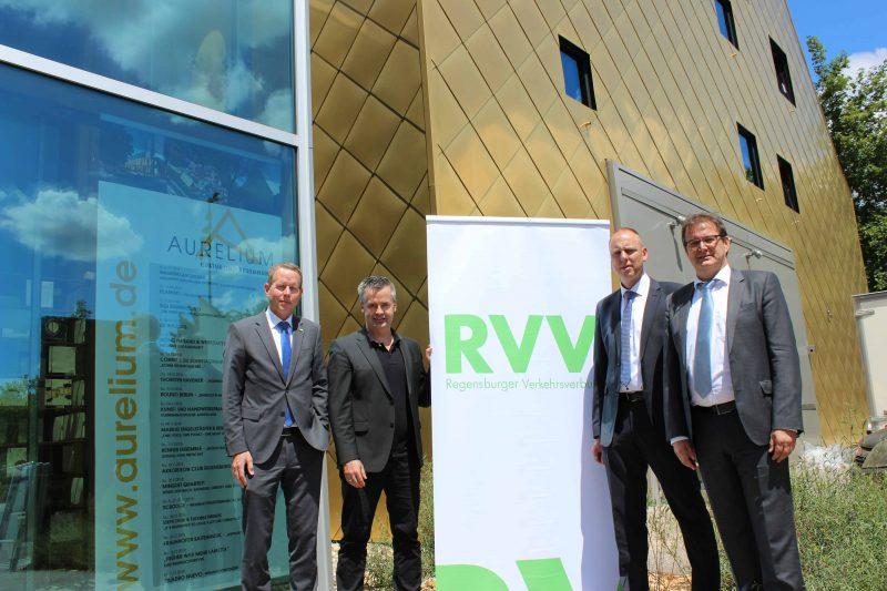 Ab 1. Juli 2018: Die Eintrittskarte zu Veranstaltungen im Aurelium wird zum Bus- und Bahn-Ticket im RVV