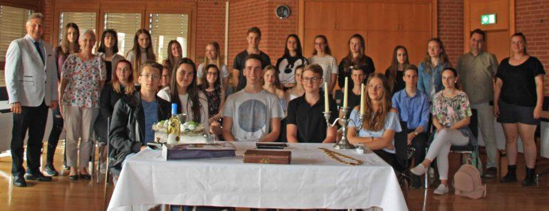 Ungarische Austauschschüler zu Gast in Neutraubling