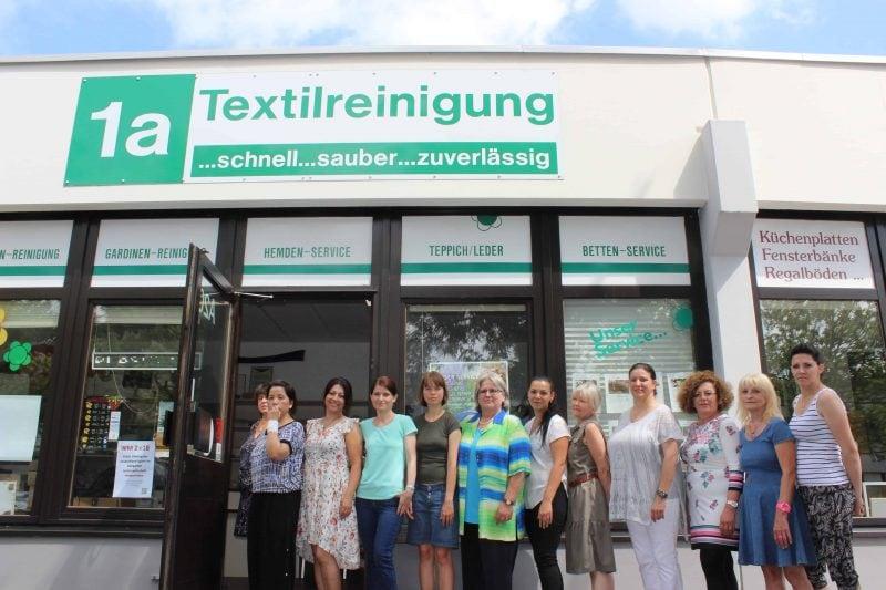 """Top-Leistung: """"1A Textilreinigung"""""""