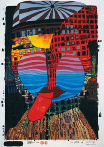 Große Hundertwasser-Ausstellung im Amberger Congress Centrum