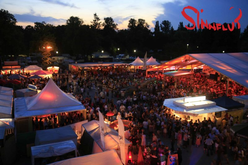 Vom 26. Juli bis 8. August: Sinnflut Festival auf dem Volksfestplatz Erding