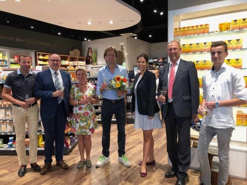 Reformhaus Vilsmeier im DEZ nach Umbau eröffnet