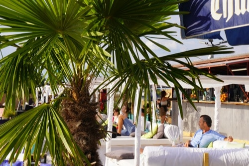 Sommer im Arcaden-Beach