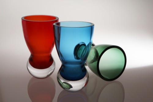 Glas designen an der Glasfachschule Zwiesel