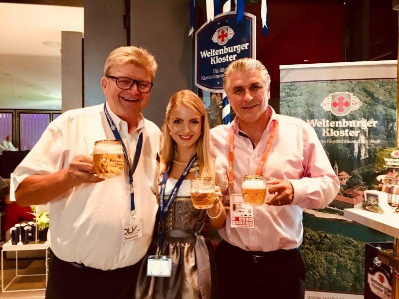 Leichtathletik-EM in Berlin: Klosterbrauerei Weltenburger als Bierpartner im Deutschen Haus
