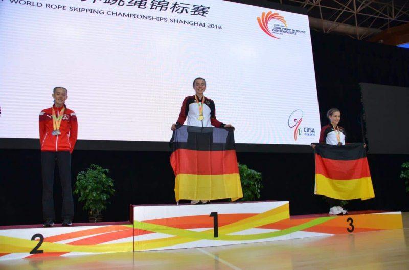 Top-Leistung für Neutraublinger Rope Skipperinnen bei WM in Shanghai