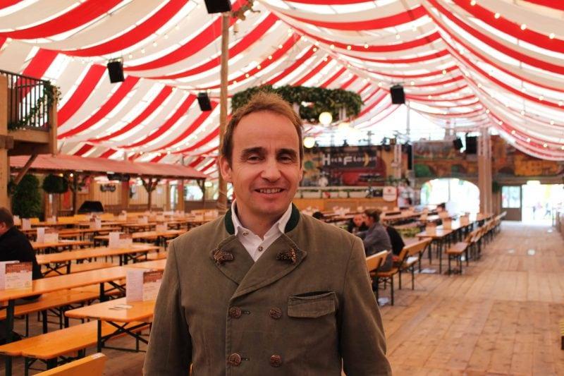 25 Jahre Hahn-Zelt auf der Regensburger Dult