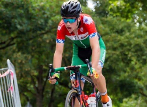 Hagelstädter bei Weltmeisterschaft im Bahnradfahren
