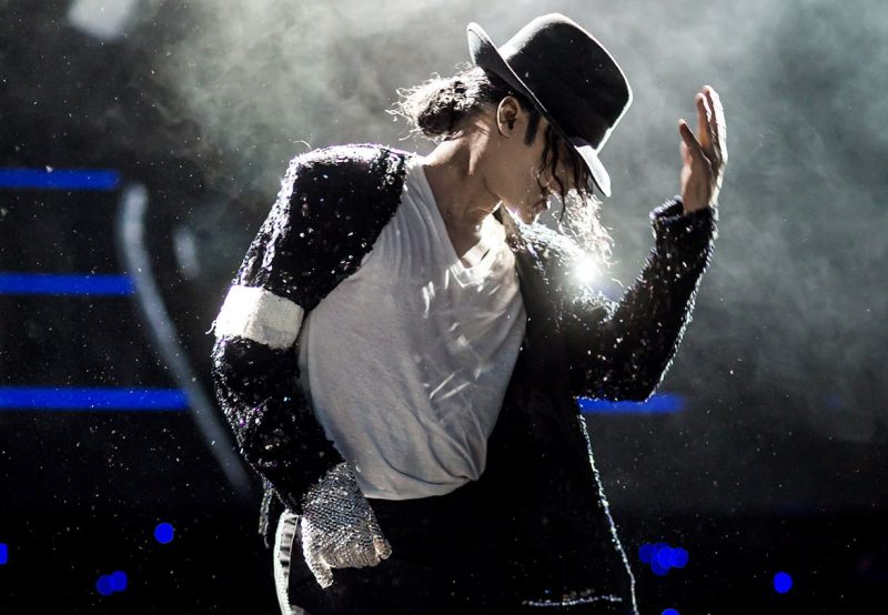 Superstar Michael Jackson