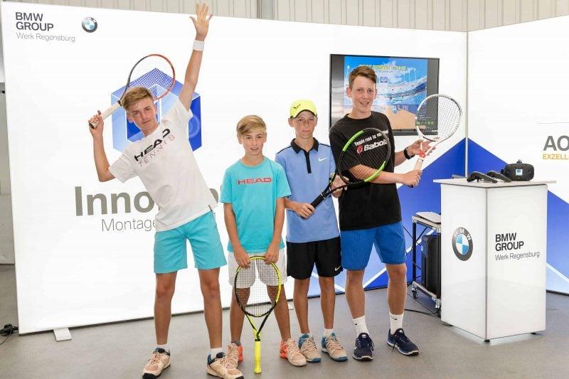 """TC Rot-Blau ist Gastgeber für den 40. """"Internationalen BMW Junior Cup"""""""