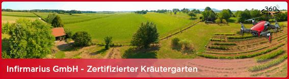 360° Panorama-Tour inkl. Drohne - Infirmarius GmbH