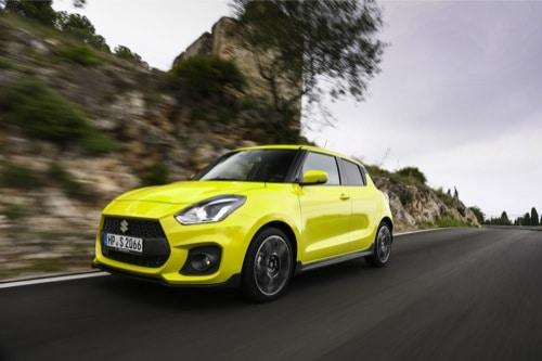 Den neuen Suzuki Swift Sport im Autohaus Bieber Probe fahren