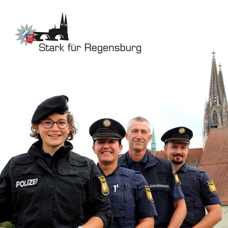 """""""Stark für Regensburg"""": Polizei-Aktion stärkt das Sicherheitsgefühl der Bevölkerung"""