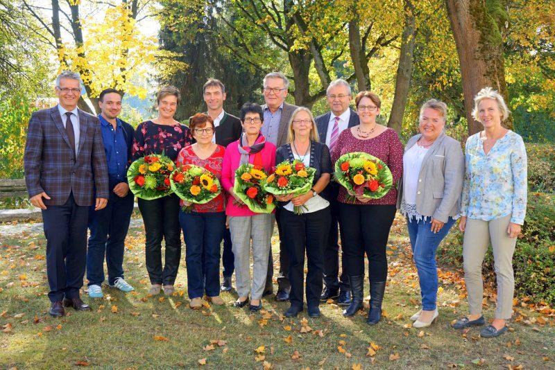 Mitarbeiterehrung am Klinikum Mallersdorf