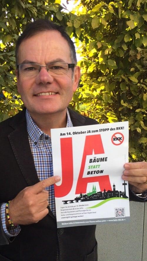 """Regensburger Stadtrat Christian Janele: """"Kein RKK am Kepler-Areal"""""""