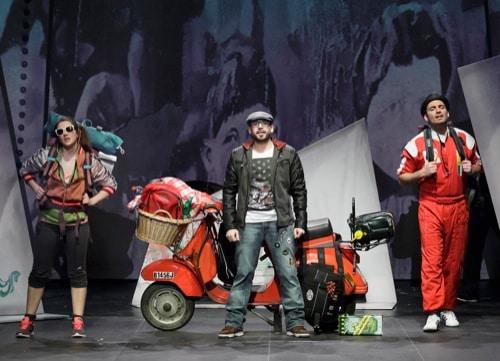 """""""Azzurro – das Italo-Pop-Musical"""": Aufführung am 10. Oktober im Theater am Bismarckplatz in Regensburg"""