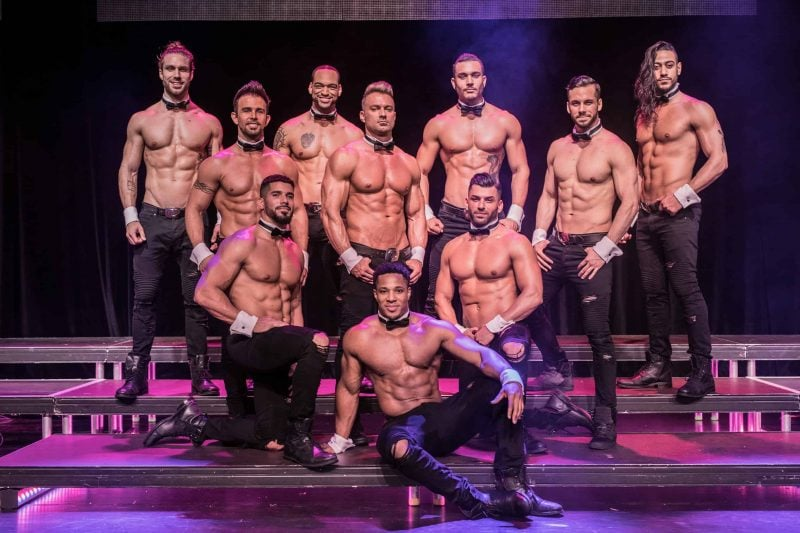 Chippendales on Tour im Oktober 2019