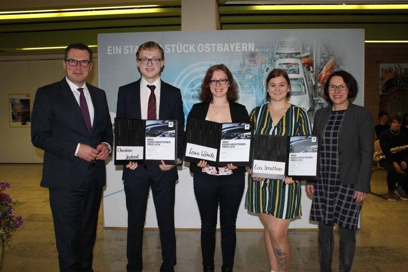 Die Preisträger des BMW-Kerschensteiner-Preises 2018