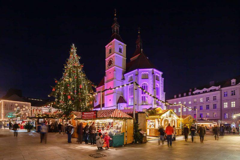 Am Montag eröffnet der Regensburger Christkindlmarkt