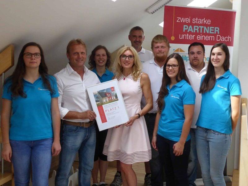 Sylvia Wagner GmbH erhält Town & Country Haus-Qualitätsaward für hervorragende Bauabwicklung