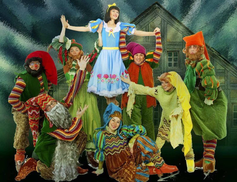 Schneewittchen on Ice Russian Circus on Ice am 27. Januar in der Regensburger Donau-Arena