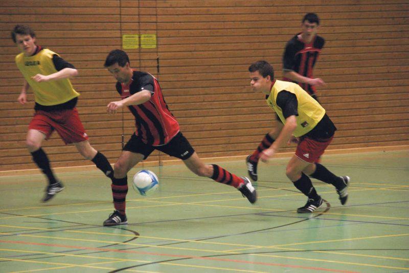 Budenzauber an diesem Wochenende Regensburger Stadtmeisterschaften im Hallenfussball