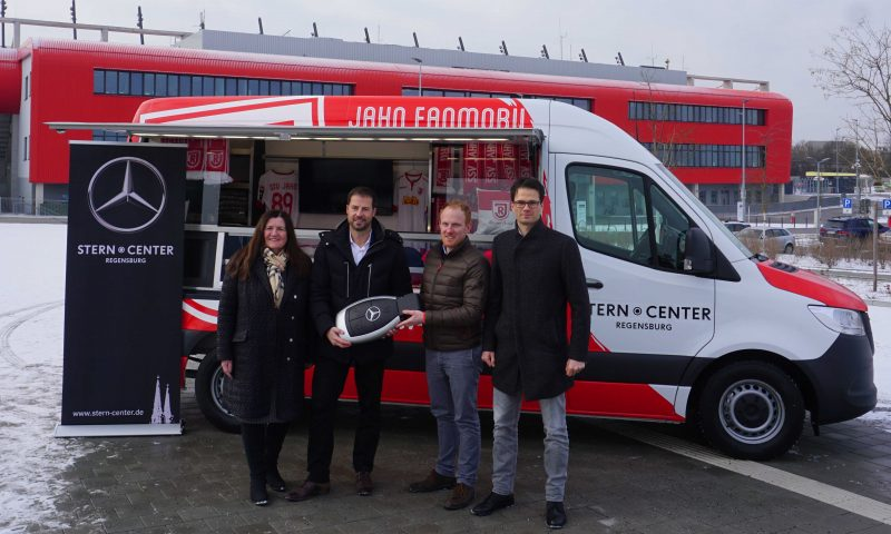Innovation für Jahn-Fans SSV Jahn Regensburg stellt Fanmobil vor