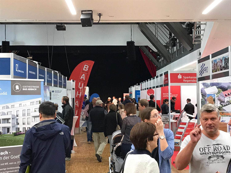 """Erfolgreiche Messe geht wieder an den Start """"MeinZuhause! Regensburg"""": Die Messe für Kaufen, Bauen, Finanzieren im marinaforum in Regensburg"""