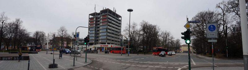 """Wirsing-Turm in Regensburg soll nicht abgerissen werden Das Bündnis """"Zukunft Kepler-Areal"""" strebt eine """"einstweilige Anordnung"""" und eine Weiternutzung an"""