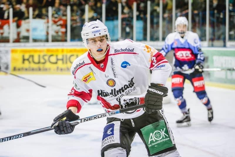 Nächstes Talent bleibt an Bord Nicolas Sauer verlängert bis 2021 bei den Eisbären Regensburg
