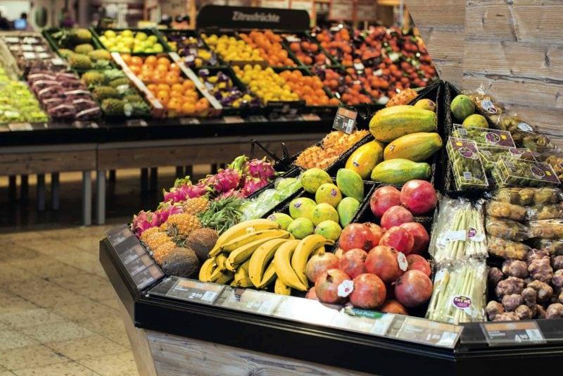 Globus für beste Obst- und  Gemüseabteilung ausgezeichnet Auszeichnung bereits zum achten Mal in Folge