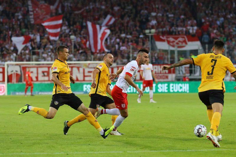 Nächster Jahn-Halt: Dresden Jahn-Elf muss Niederlagen gegen Kiel und Bielefeld wegstecken