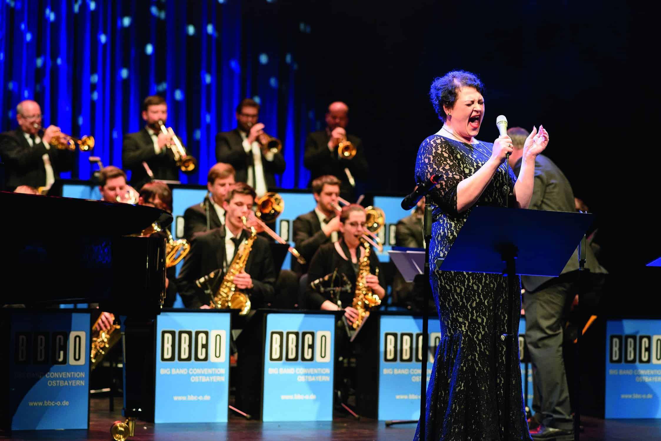 Big Band Convention Ostbayern feat. Steffi Denk @ Jazzclub im Leeren Beutel   Regensburg   Bayern   Deutschland