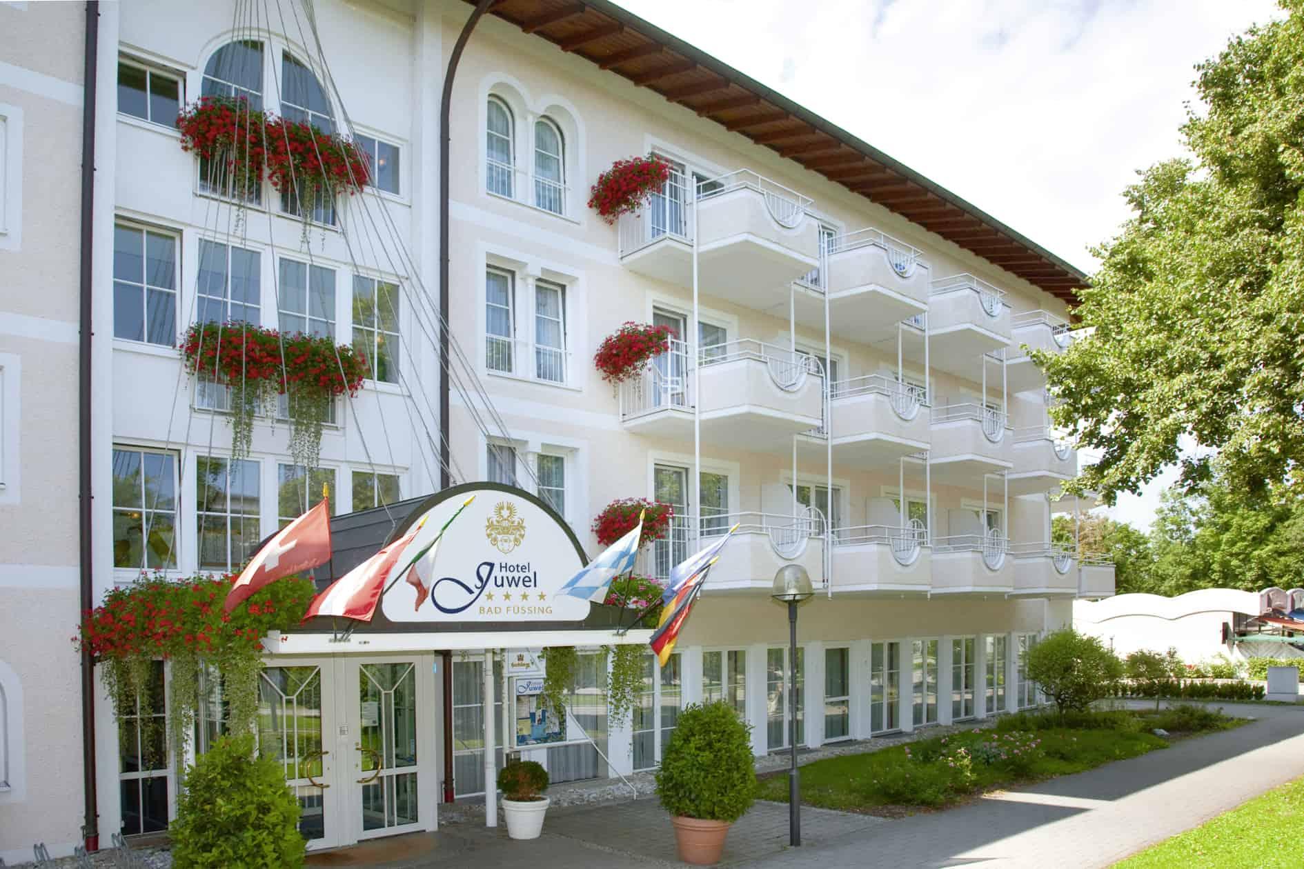 Erlesenes All-inclusive-Angebot Erholung pur im Hotel Juwel in Bad Füssing