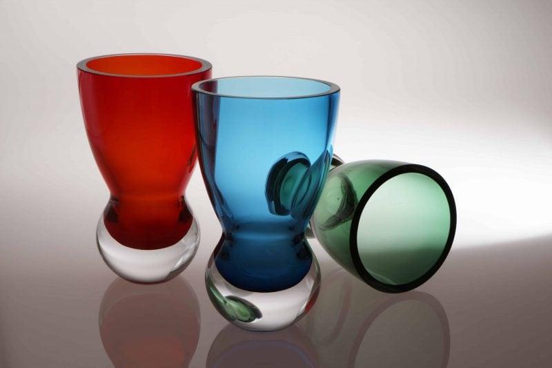 Glas designen an der Glasfachschule Zwiesel Kreative Ausbildung