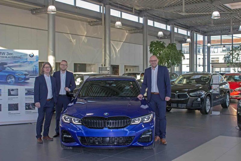 9. März: Markteinführung der neuen BMW 3er Limousine im Autohaus Hofmann Regensburg Die ultimative Sport-Limousine