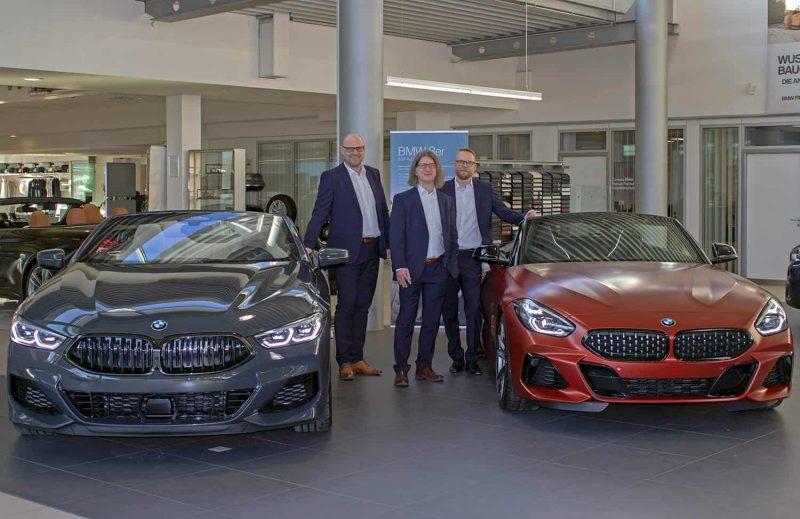 Autohaus Hofmann in Regensburg präsentiert neue BMW-Modelle 9. März: Markteinführung der neuen Modelle 3er, Z4 Roadster und 8er Cabriolet sowie MINI Blackyard Family Ranch