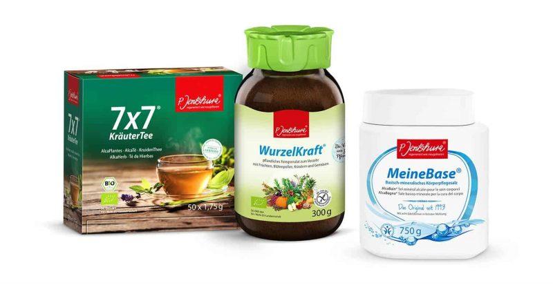 """""""P. Jentschura""""-Produkte gibt es im Reformhaus Vilsmeier im Donau-Einkaufszentrum Regensburg Fasten ohne Magenknurren"""