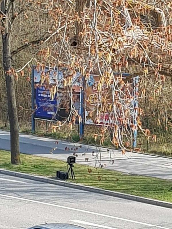 Blizz Leserreporter Blitzer in der Lilienthalstrasse