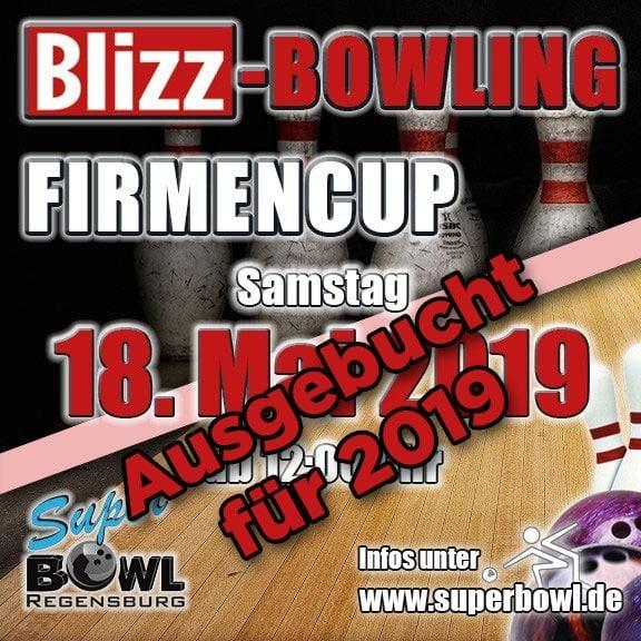 Firmen bowlen für den guten Zweck Blizz Bowling Firmencup 2019
