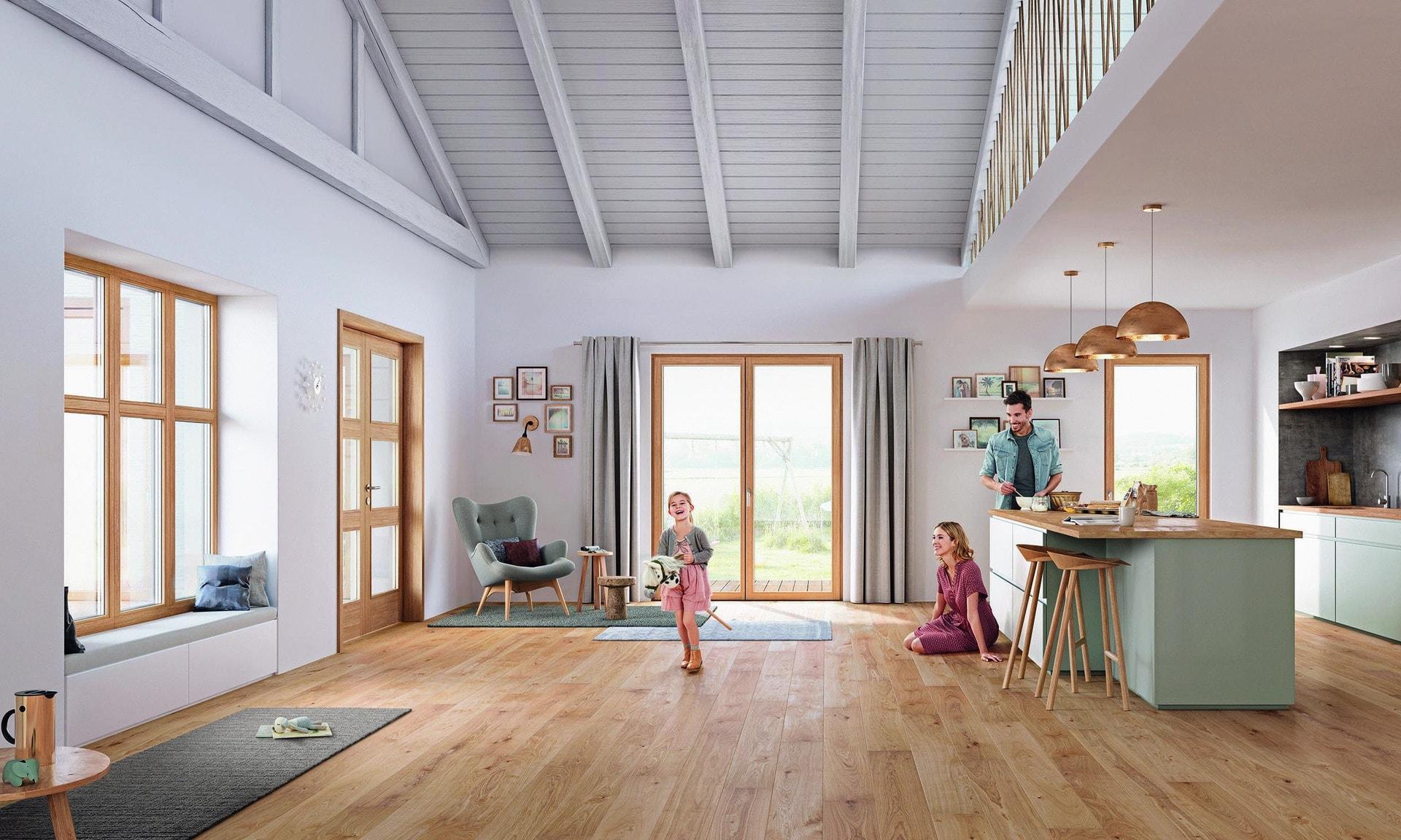Smart Mix von Josko bei den HausModernisierern in Teugn Ohne Kompromisse: HausModernisierer sorgen für Wohnharmonie