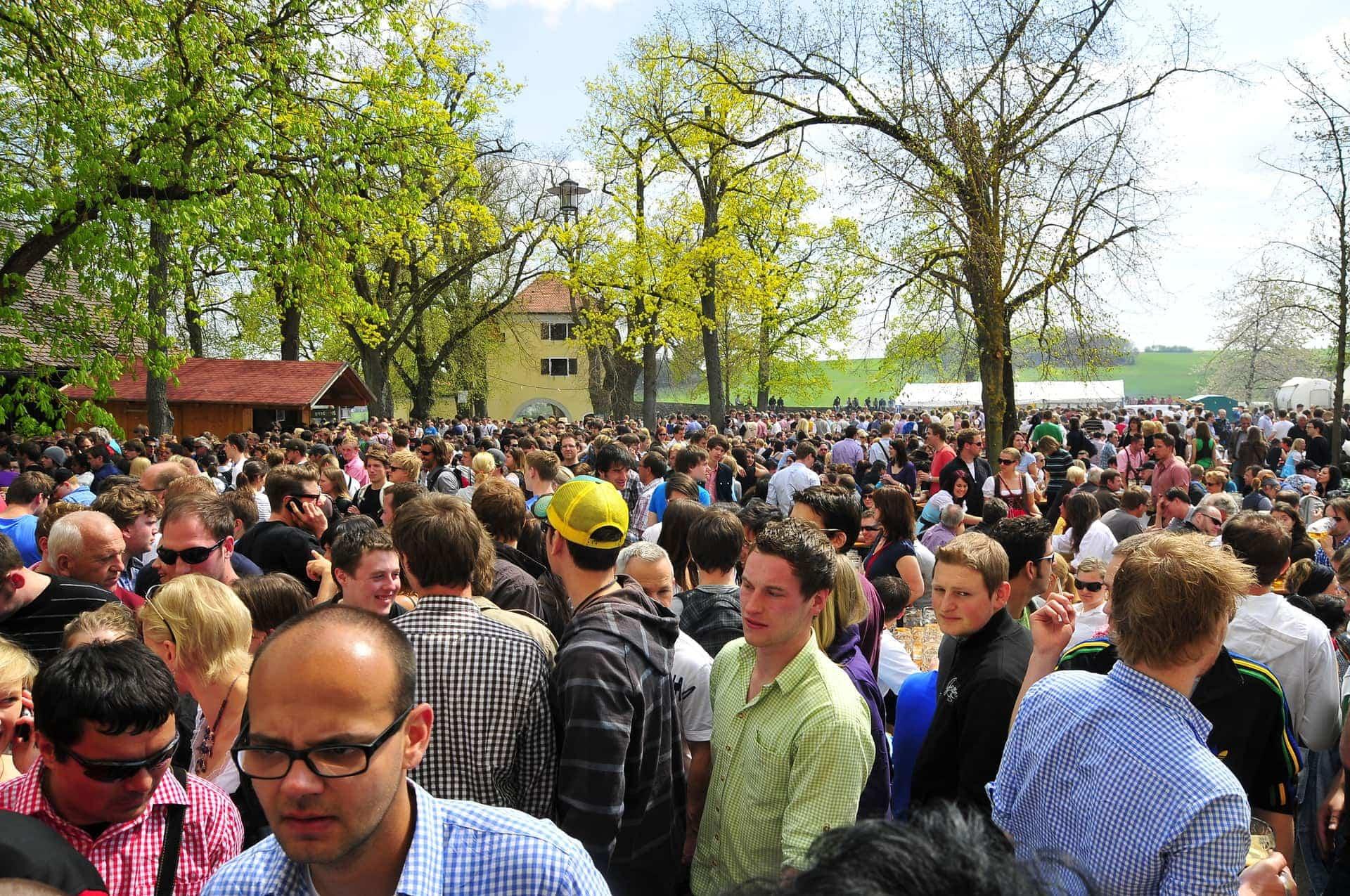 Polizei zieht Bilanz zum Palmator 2019 auf dem Adlersberg Größere Schlägereien blieben beim Starkbierfest aus