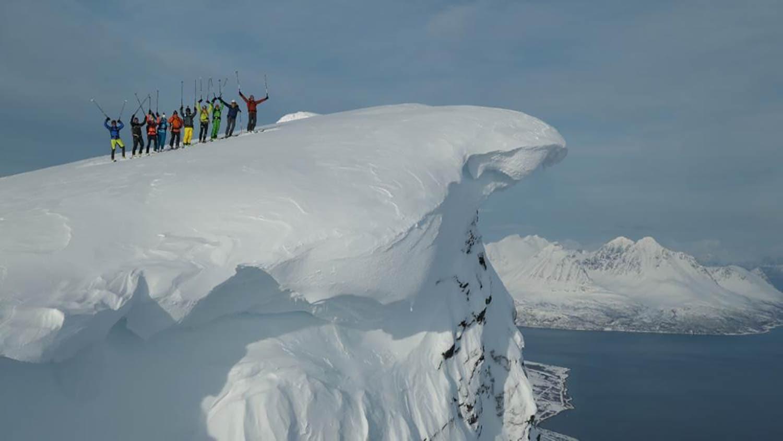 Infoabend bei Sport 2000 in Kelheim Vortrag zur Heli-Skiing-Tour in Kanada