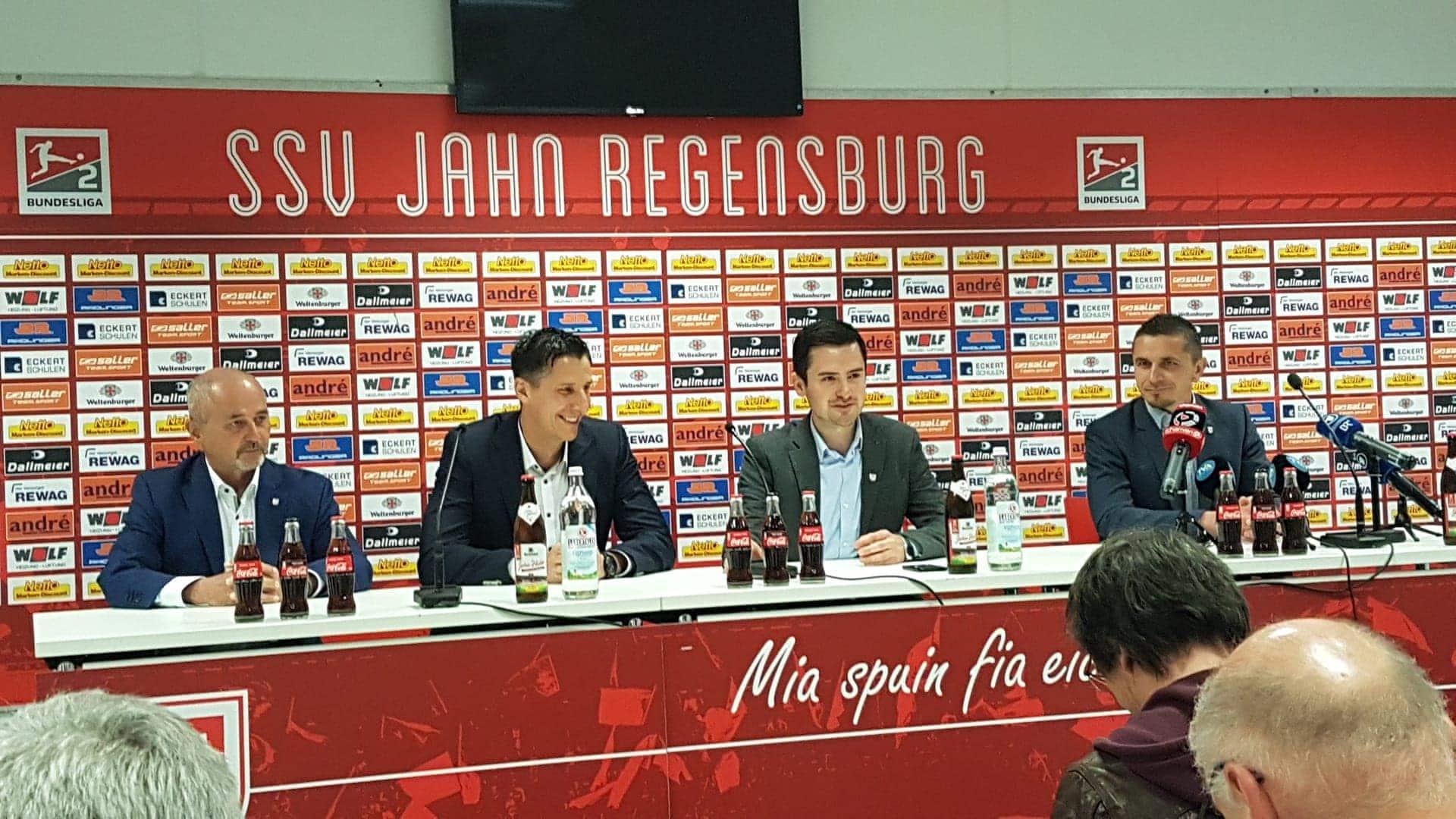 Vertrag des Beierlorzer Nachfolgers läuft bis 30.06.2021 SSV Jahn Regensburg geht mit Chef-Trainer Mersad Selimbegovic in die Saison 2019/20