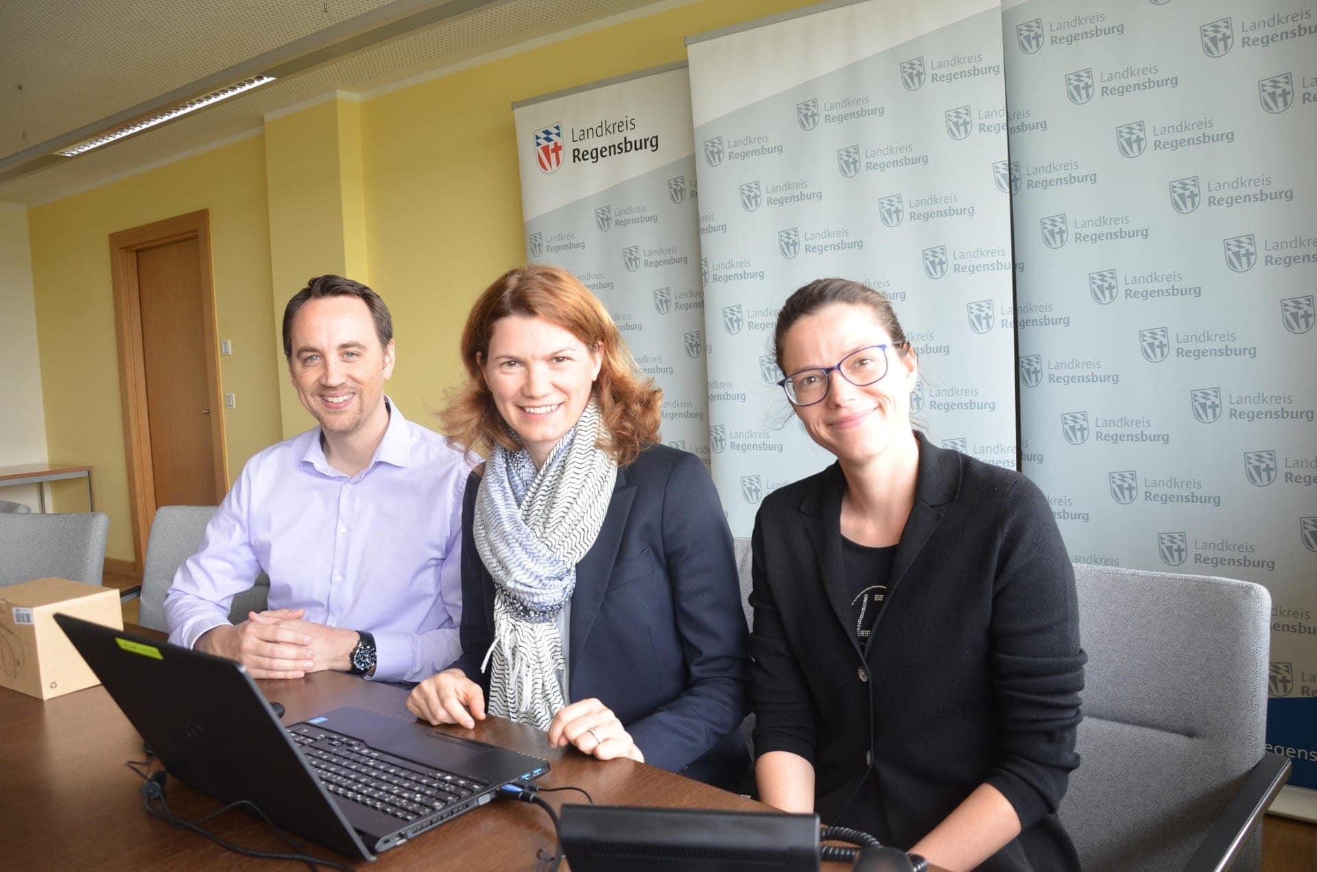 Blizz Plus – Mehr als Print Dank Blizz: Virtueller Rundgang durchs Landratsamt Regensburg möglich