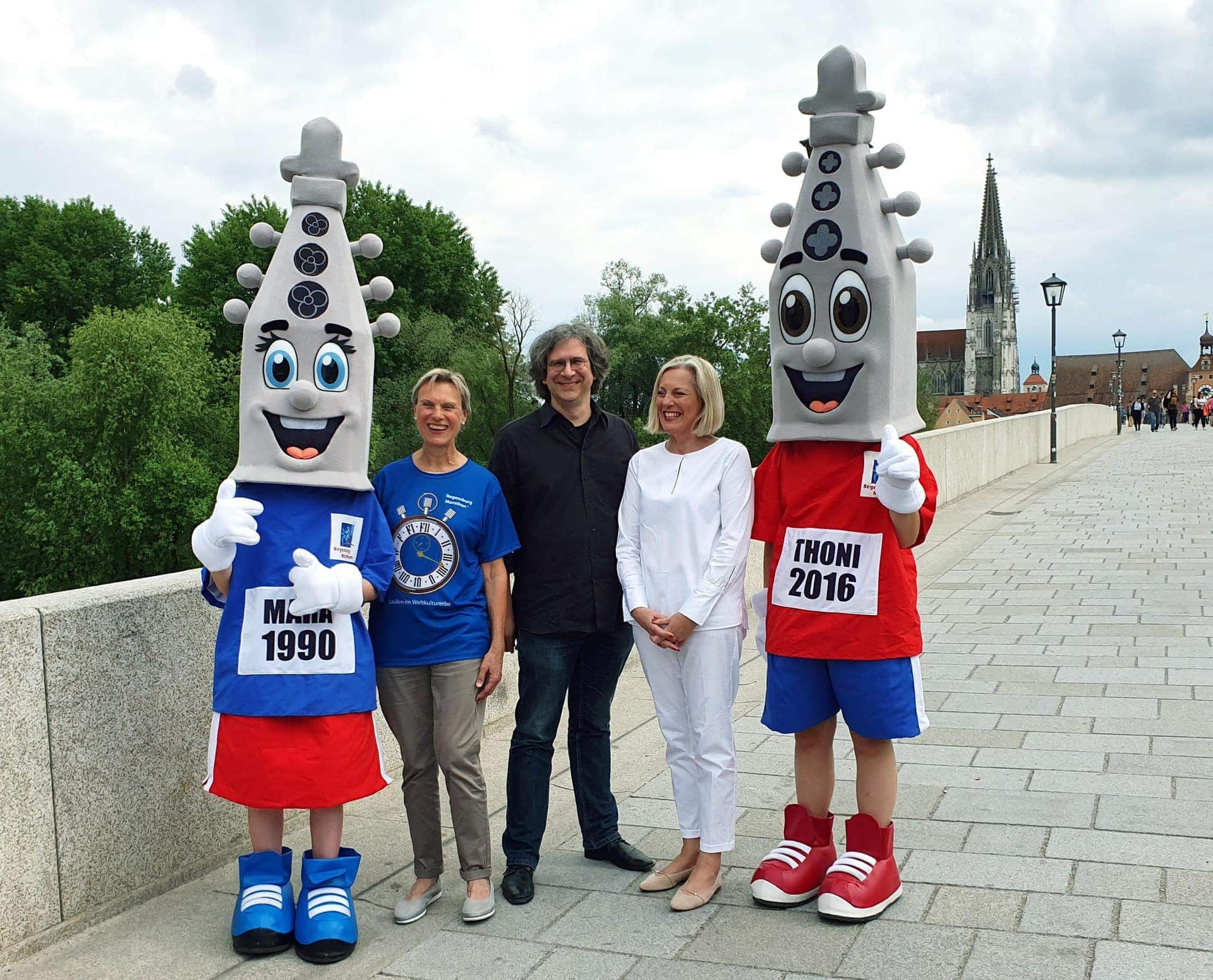 Am 1. und 2. Juni übernehmen die Marathonis zum 28. Mal die Stadt Laufen im Weltkulturerbe
