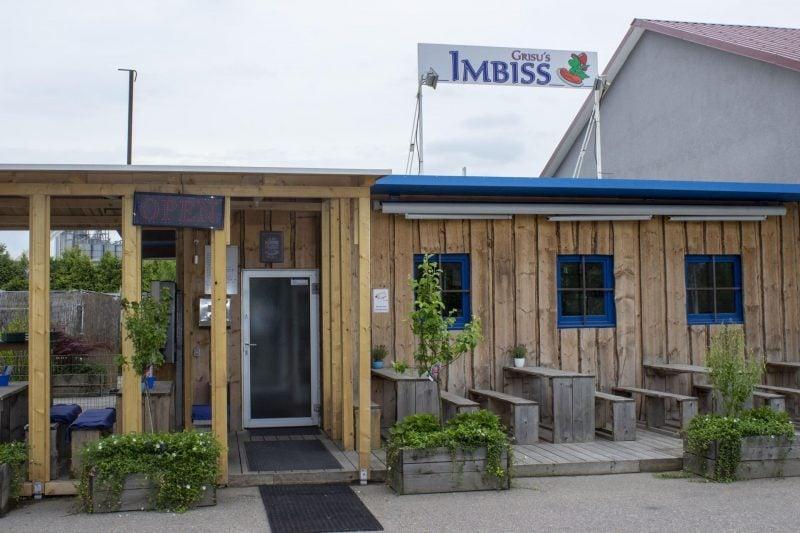 Wenn der große Hunger kommt … Grisu's Imbiss: Täglich frische Küche Die Nummer eins im Hafen