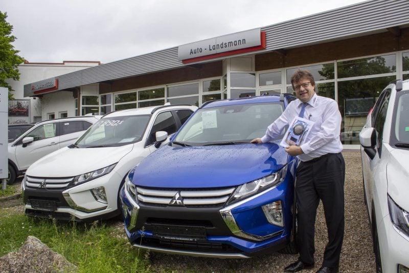 Autohaus Landsmann: J.D. Power Award 2019 für Mitsubishi-Händler Höchste Kundenzufriedenheit für Regensburger Autokäufer