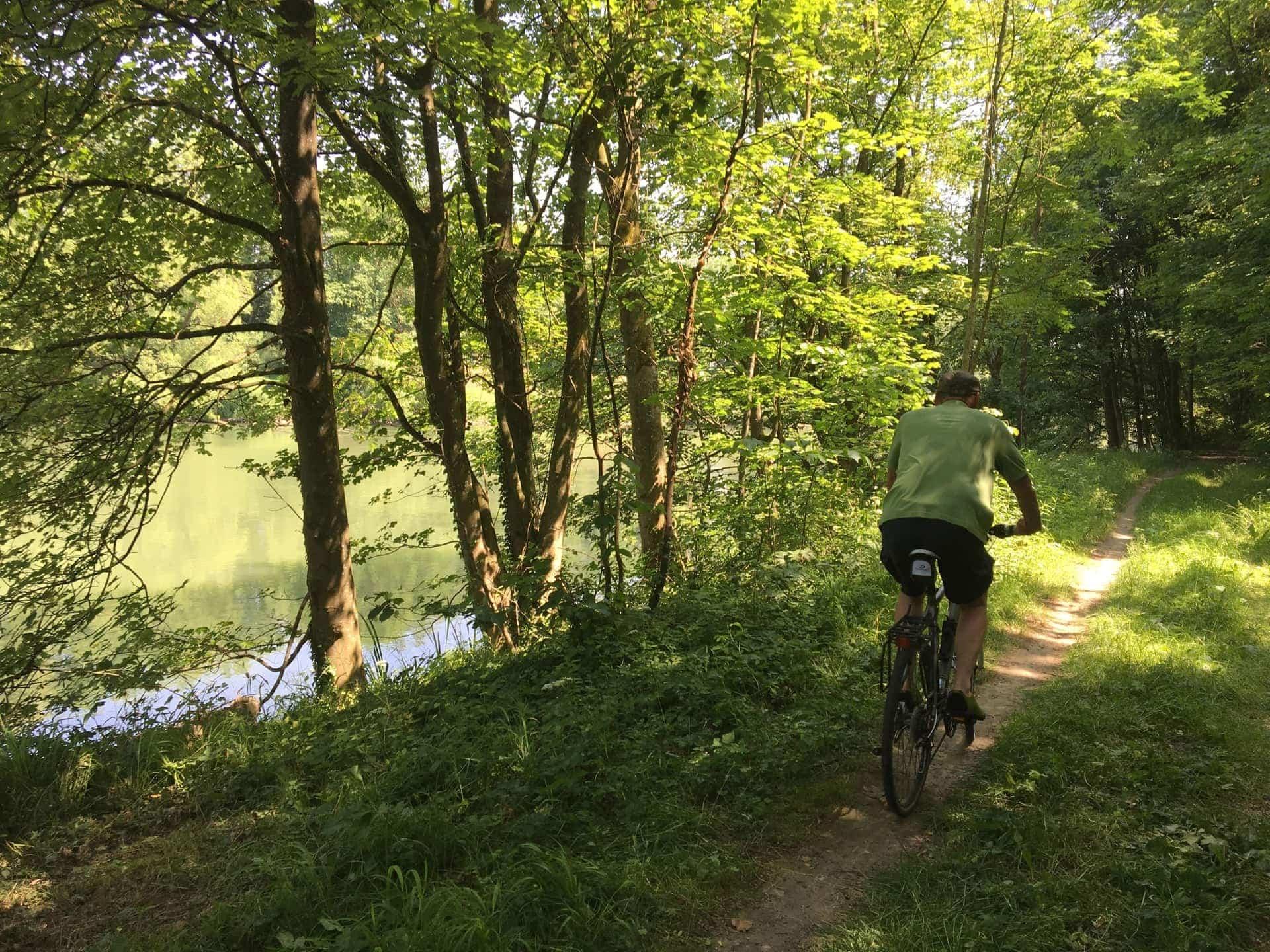 Mit Reisekreativ in die Pedale treten / Auch mit E-Bike möglich Radeln an Isar, Spree und Mur