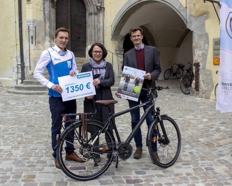 """Der Startschuss für die internationale Aktion fällt am 25. Mai  """"Stadtradeln"""" - Regensburg radelt mit"""